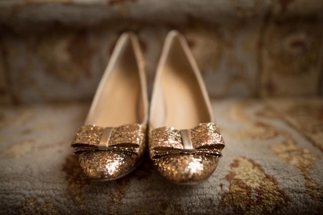 Glitter Shoes KA Holiday OOTD POst