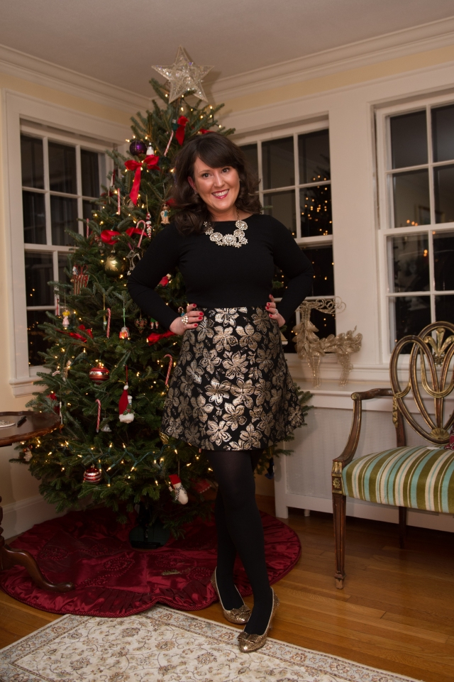 Holiday Party Outfit KA OOTD Post