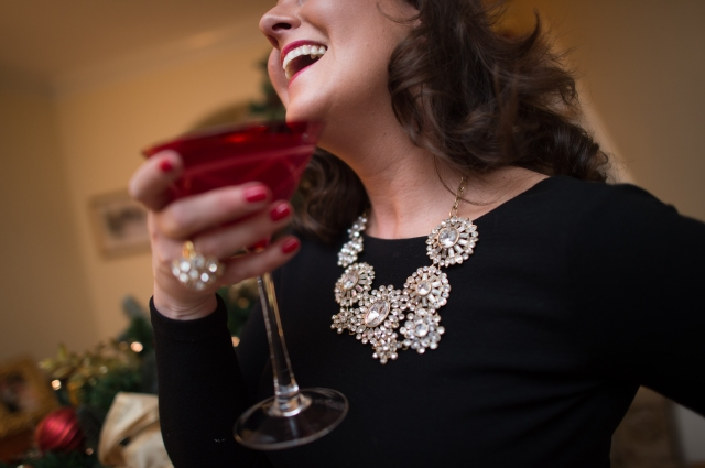 Jewelry Holiday Party KA OOTD Post
